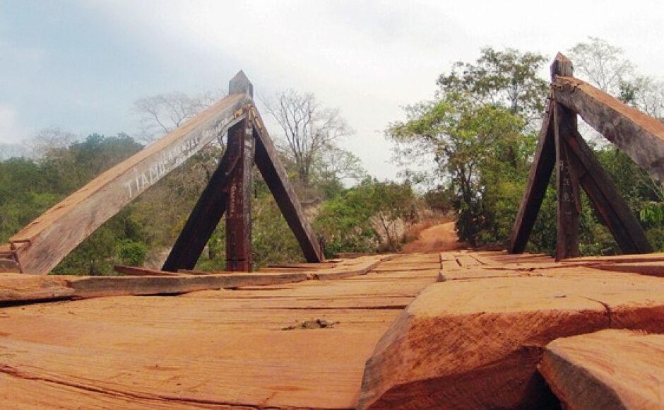 Prefeitura de Bonito vai reformar ponte sobre o Córrego Roncador