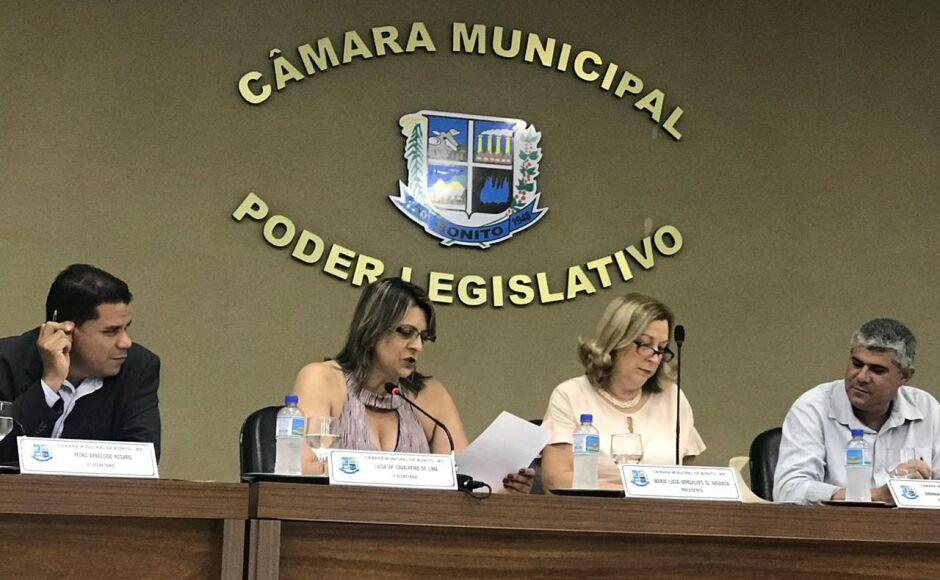 Indicações e Requerimentos foram aprovados durante sessão da Câmara em Bonito (MS)