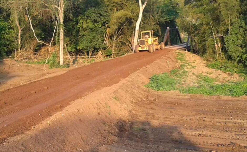 BONITO e mais 3 cidades recebem auxilio da Agesul na recuperação de estradas devido as chuvas