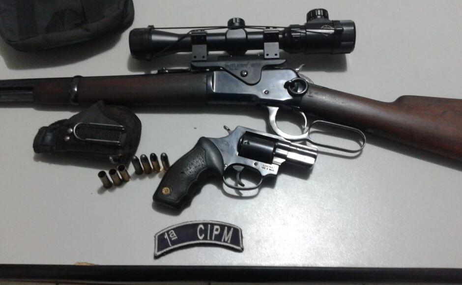 Mais uma ocorrência de violência doméstica é registrada e armas de fogo apreendida em Bonito (MS)