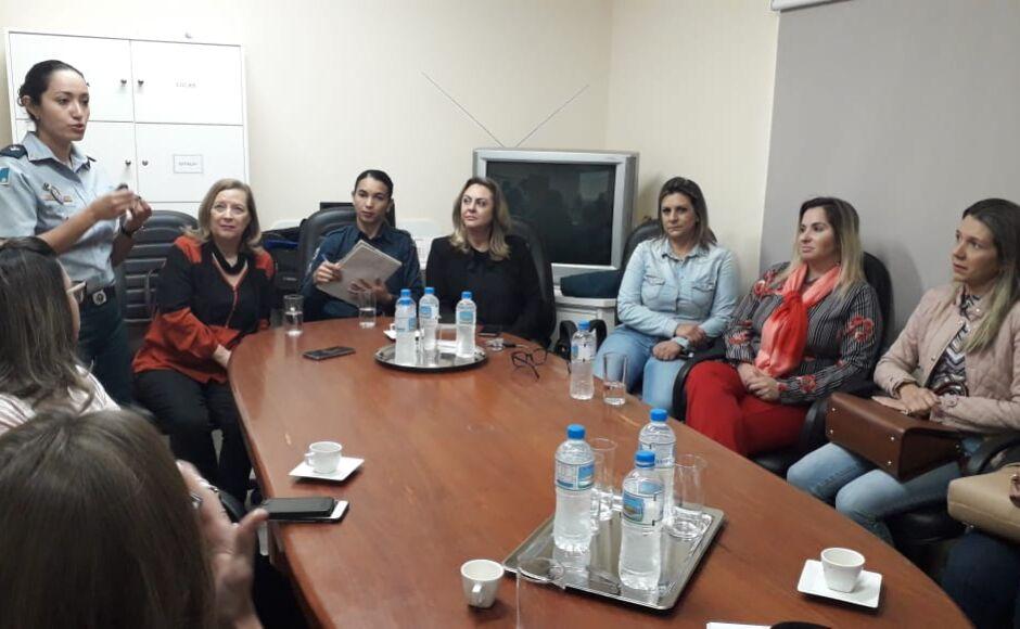 BONITO: Polícia Militar organiza 1ª conferência com autoridades para o combate a violência doméstica