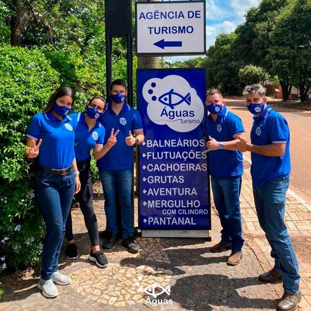 Equipe Agência Águas Turismo