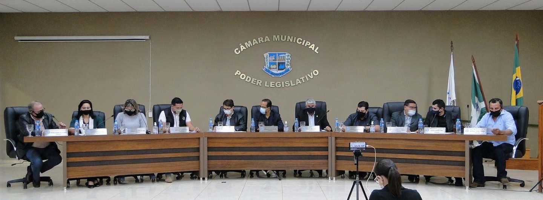 Câmara Municipal de Bonito - Sessão Ordinária