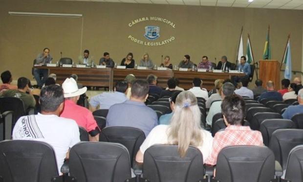 FOTO: Priscila Cruz / Assessoria - Confira o trabalho dos vereadores durante sessão ordinária na Câmara de Bonito (MS)